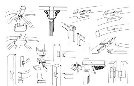 人们都知道,红木家具的连接是使用榫卯的,不使用铁钉.